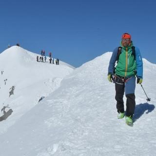 "Skirunde Großvenediger: Am Großvenediger, der ""Weltalten Majestät"". Foto: Stefan Herbke"