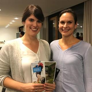 Dr. Arlette Vander Pan und Dr. Anne Krüger, Foto: Christina Schwann