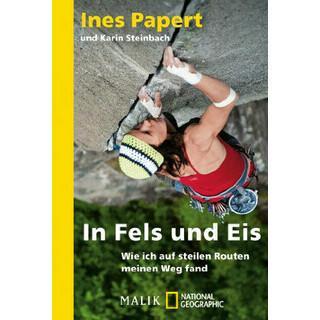 Buchcover Frau Bergsteigen: Im Eis und Fels