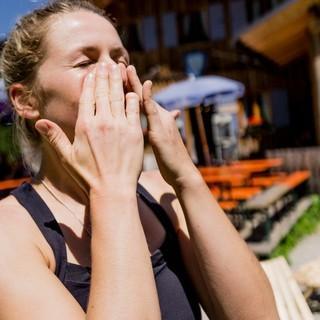 Sonnencreme nicht vergessen, Foto: DAV/Hans Herbig