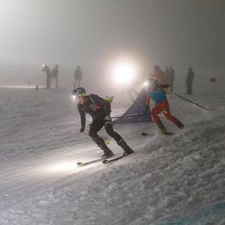 Das Sprintrennen findet abends statt. Foto: DAV/Marco Kost
