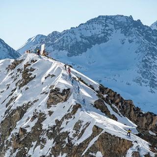 Anspruchsvolle Strecken in der Schweiz Foto: DAV/Balz Weber