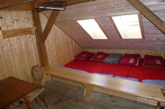 Matratzenlager hütte  Sanierung von Alpenvereinshütten 2015 - DANKE für Ihre Spende ...