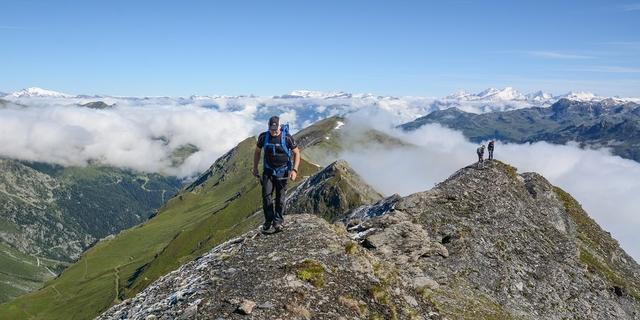 Aufstieg über den Nordgrat zum Garde de Bordon, Foto: DAV/Bernd Jung
