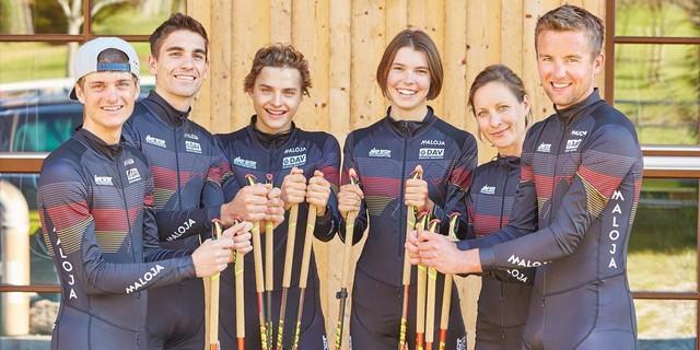 DAV Skibergsteigen Nationalmannschaft 2017-18 Foto: DAV/Seebacher