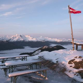 Kälteeinbruch am Alpenhauptkamm