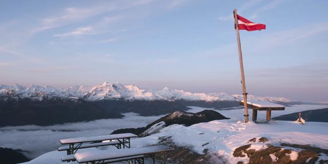 Spätsommerlicher Kälteeinbruch am Alpenhauptkamm - Foto: Nadine Ormo