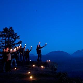Auf der ganzen Welt machen Kommunen, Unternehmen und Bürger bei der Earth Hour mit. Foto: WWF/Jeremiah Armstrong