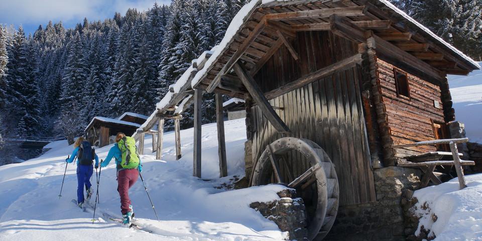 Im Aufstieg zur Samalm entlang des Mühlenweges. Foto: Ute Watzl