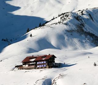 Schwarzwasserhütte - Basislager Nummer Eins: Die Schwarzwasserhütte ist mit gutem Grund beliebt.