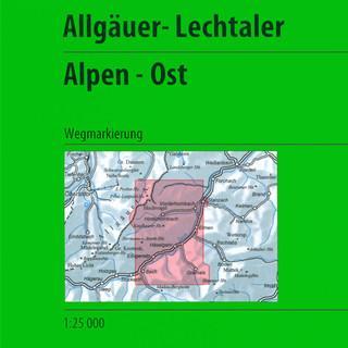 Titel Allgäuer-Lechtaler Alpen - Ost