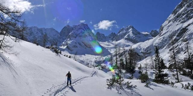 Durchs Mieminger Gebirge - Auf dem Weg durch die Mieminger muss man nicht mit viel Gedränge rechnen. Foto: Stefan Herbke