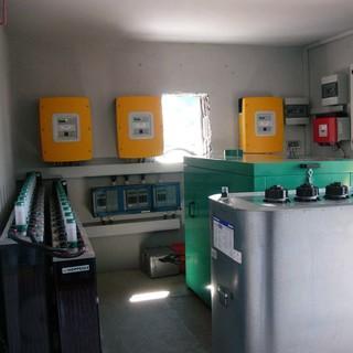 Wechselrichtersystem mit BHKW Ansbacher Huette 2007