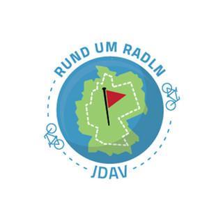 Rund-um-Radln-Logo-JDAV-Bayern