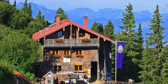 Das Staufner Haus in den Allgäuer Alpen hat bereits ab 1. Mai geöffnet. Foto: Martin Erd
