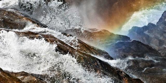 Grawa Wasserfall, Stubaital. Foto: Heinz Zak
