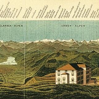 Panorama vom Rigi. Alpenverein-Museum, Innsbruck