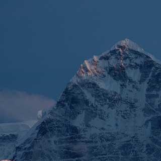 Der Kantega (Nepal) - Der 6779 Meter hohe Kantega im Abendlicht, Solo-Khumbu-Region, Nepal, Himalaya | Foto: Bernd Ritschel