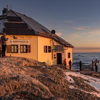 """Das Matrashaus dient als Anlaufpunkt nach der Tour """"Freier als Paul Preuss""""."""