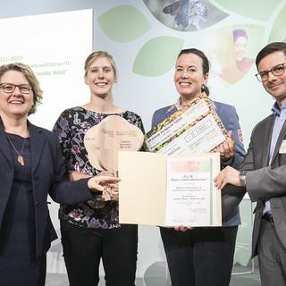 20181010 Projekt ALM Auszeichnung Svenja Schulze klein