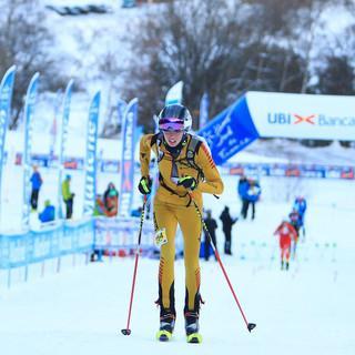 Tessa Wötzel beim Sprint Rennen © Seebacher / DAV