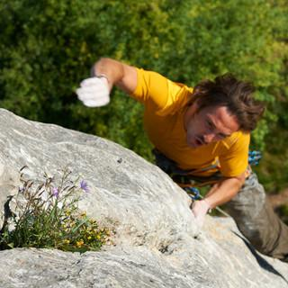 Klettern und Naturerlebnis gehören zusammen. Foto: DAV/M.Meisl