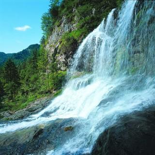 Wasserfall in der Weißbachschlucht, Foto: TVB BGL