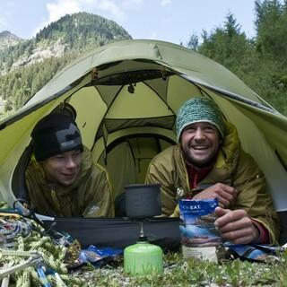 Für die Verpflegung auf der Expedition sorgt Katadyn. Foto: DAV