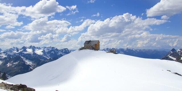 Hochstubaihütte  Foto: Egon Höller