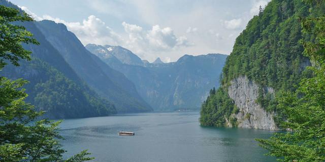 Berühmter geht es fast nicht: Königssee in den Berchtesagdener Alpen. Foto: Christof Herrmann