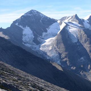 Tauernseen - Die Bratschenflanke des Hohen Tenn vor Wiesbachhorn und Tauernseen