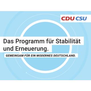 Grafik: CDU/CSU