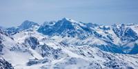 Königspitze und Ortler sind nicht weit weg – Ausblick von der Valbenairspitze, Foto: Markus Stadler