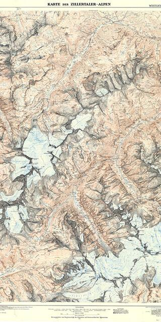 Die Erstausgabe der Zillertaler Alpen (West), Foto: DAV