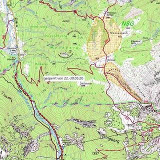 Wegsperrung-Schafreiter-Karte