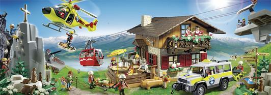 Playmobil-Große-Bergwelt