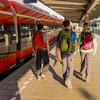 Am besten: Zug oder Fahrgemeinschaften, Foto: DAV/Hans Herbig