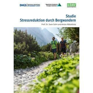 Cover der Studie, Foto: DAV