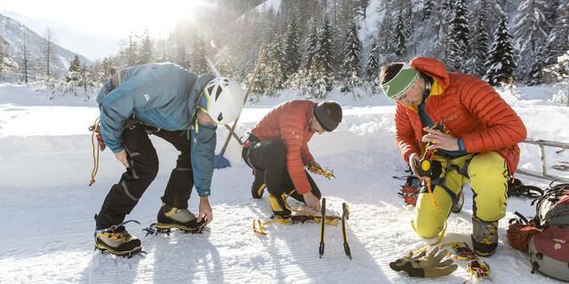 Vorbereitungen. Foto: TVB Osttirol / Ramona Waldner