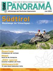 DAV Panorama 3/2003 Südtirol