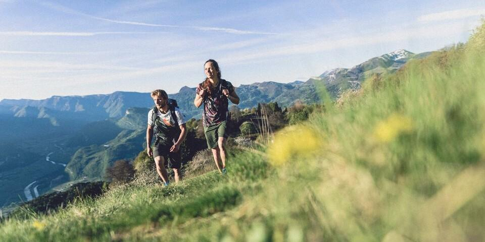 Bergsteigen, Klettern, Mountainbiken – der DAV ist offen für verschiedene Bergsportarten. Foto: DAV/Wolfgang Ehn