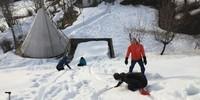 Kugelbahn Winter, Foto: Jubi/ Heidi Harder