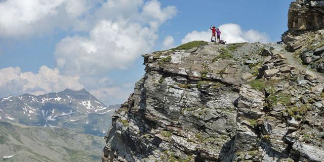 Auf dem Sadnig-Höhenweg durch eine unebakannteren Ecken in den Hohen Tauern. Foto: Christof Herrmann