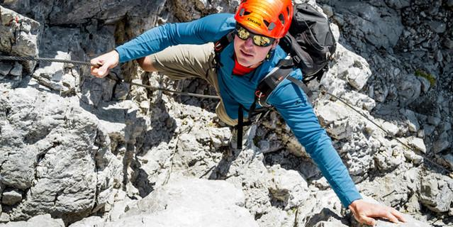 Kletterstelle mit Drahtseil, Foto: Hans Herbig