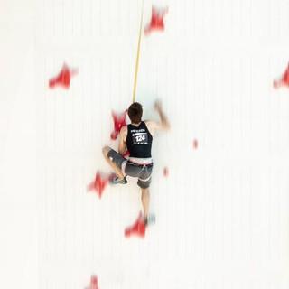 13. Jan Hojer und Alexander Averdunk an der Speedwand während der Deutschen Meisterschaft in Augsburg, Aufnahme Jens Klatt, Copyright DAV-1200px