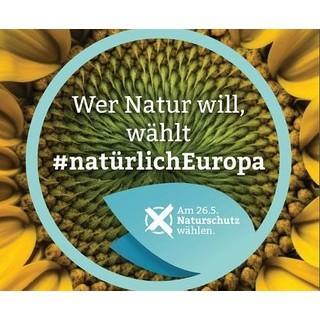 Natürlich Europa! Kampagne des DNR anlässlich der Europawahl 2019 für mehr Umwelt- und Klimaschutz in der EU-Politik. Quelle: DNR