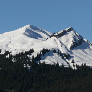 Am Wochenende sind Touren mit hohem Ausgangspunkt, wie hier rund um Bergwang (im Bild das Galtjoch) zu empfehlen. Foto M. Pröttel