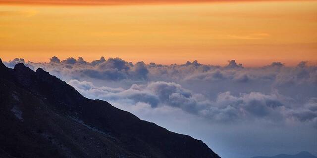 Zauberhaft: Für den Rocciamelone müsste man nicht früh losgehen – aber es lohnt sich. Foto: Stefan Neuhauser
