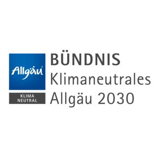 Logo Bündnis klimaneutrales Allgäu 2030; Energie- und Umweltzentrum Allgäu (eza!)