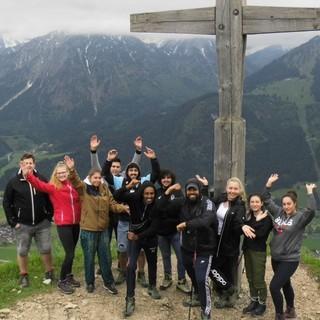 Azubitraining Gipfelbild, Foto: Jubi/ Lena Peschke